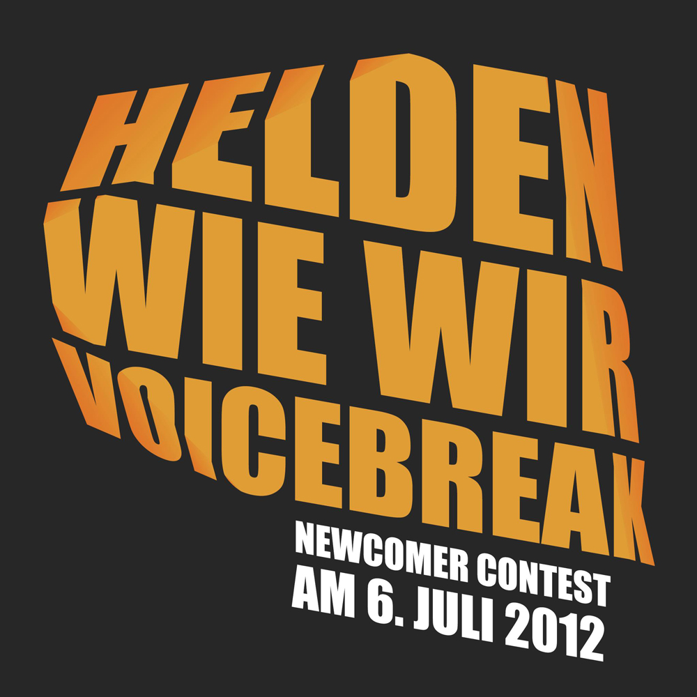 VoiceBreak beim Newcomer Contest 2012